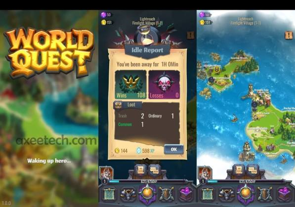 Rovio World Quest игра со Android